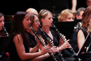 Orchestre d'Harmonie d'AIx les Bains, clarinettes