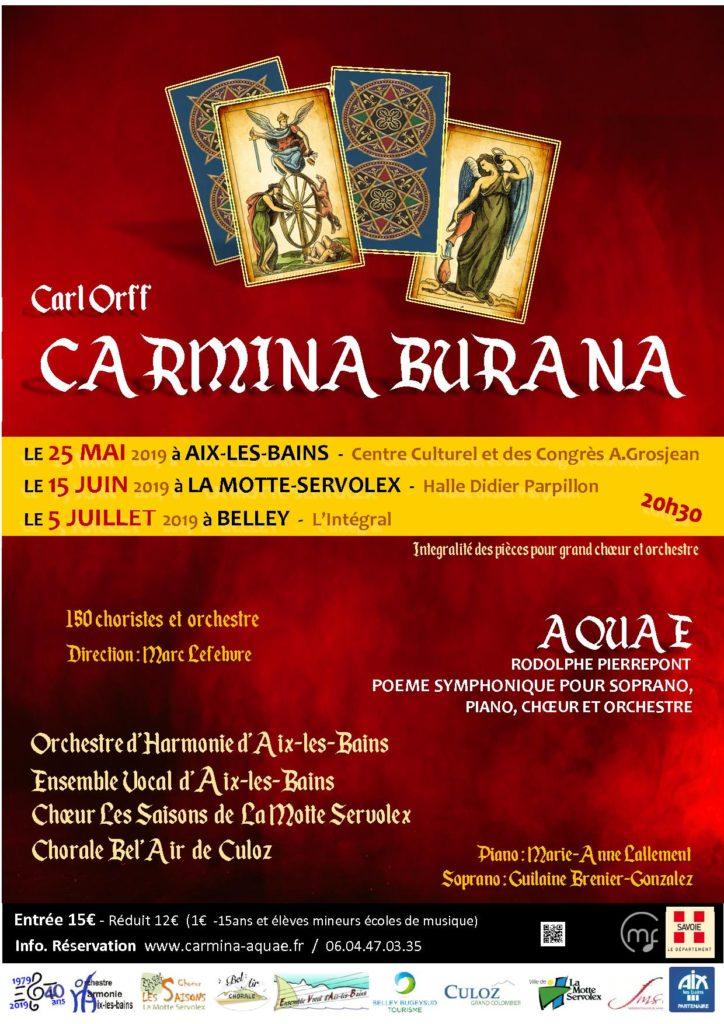 Concert de l'OHA Carmina-Aquae