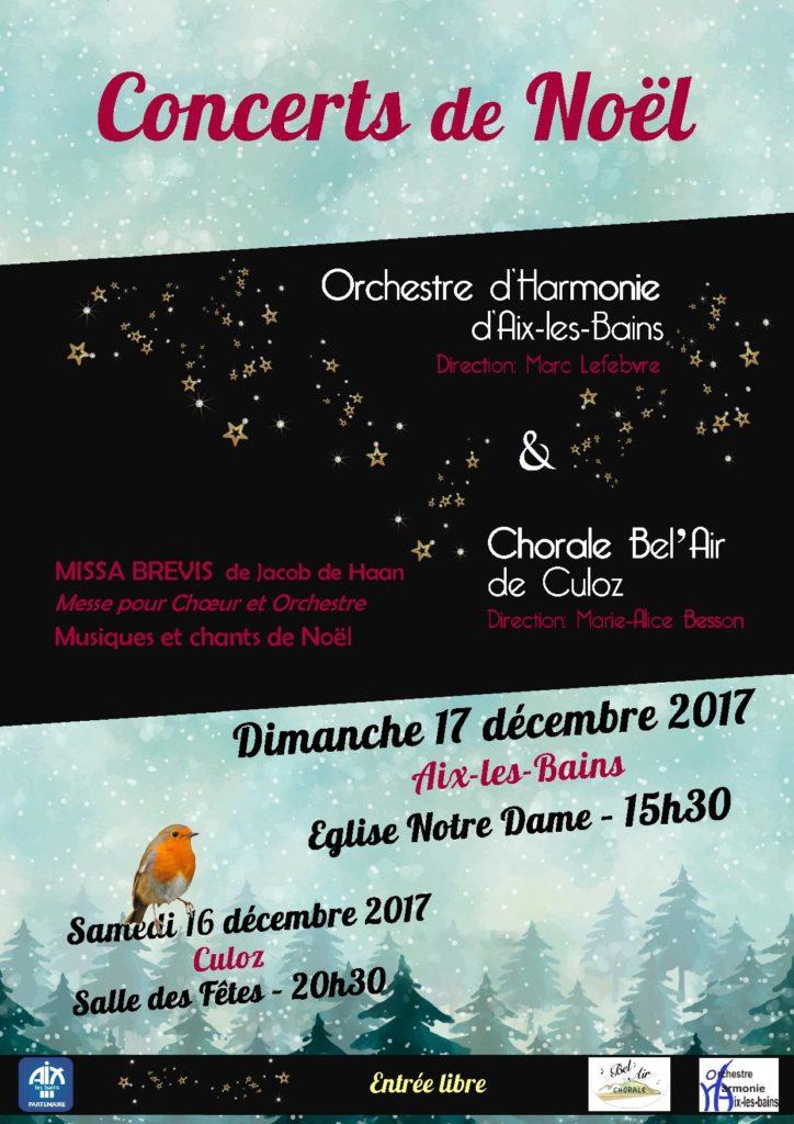 Concert de Noël 2107